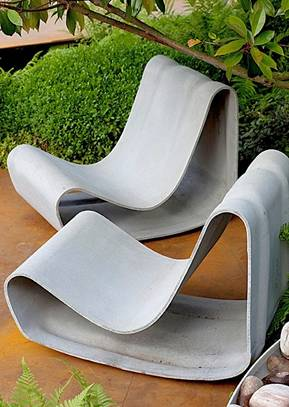 Willy Guhl Loop Chair Modern Concrete Outdoor Chair Mid Century Modern  Design Classic Made In Switzerland · Available From Stardust
