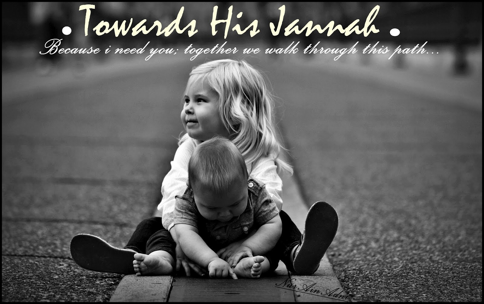 .Towards HIS Jannah.