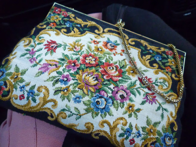 tapestry bag via lovebirds vintage