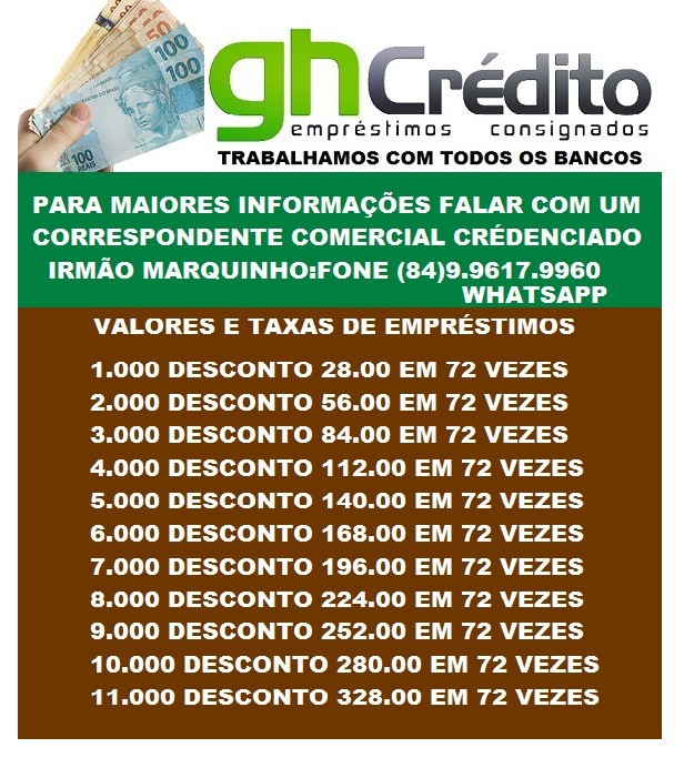 GH CRÉDITO EMPRÉSTIMOS CONSIGNADOS