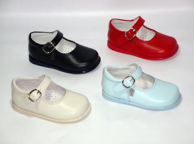 merceditas de piel de bambineli calzado para niños y niñas