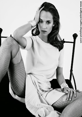 Alicia Vikander hot photoshoot stills-gallery