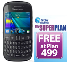 BlackBerry Curve 9220 plan