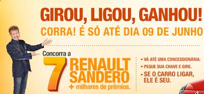Promoção Renault Portas Abertas 2013