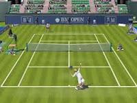 WASD tuşları ile iki kişilik tenis turnuvası oyunu