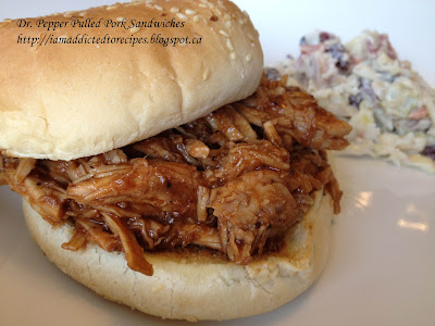 Delicious pulled pork made with Dr Pepper