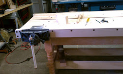 benchtop and vise