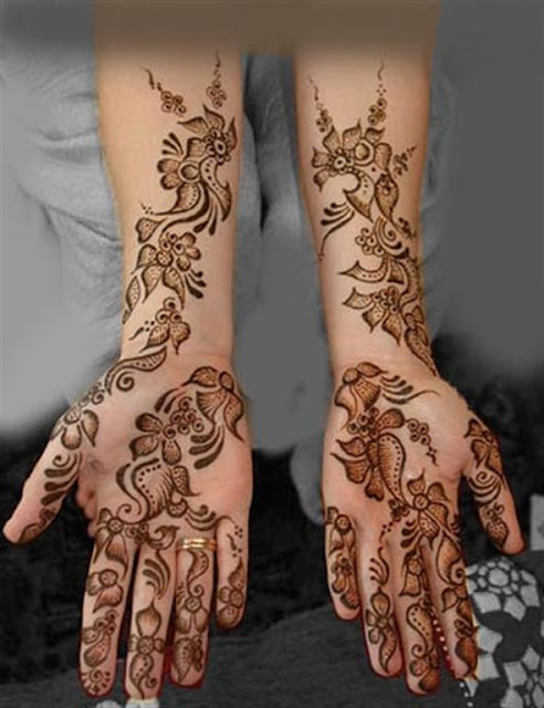 mehndi for bridal