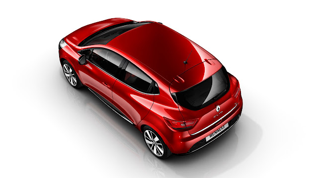 New Renault Clio back side up
