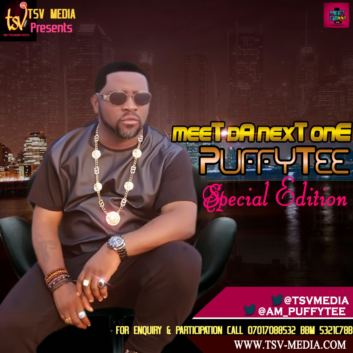 """Interview: I've Got No Issue With Olu Maintain - PuffyTee Opens Up On """"Meet Da Next ONE"""""""