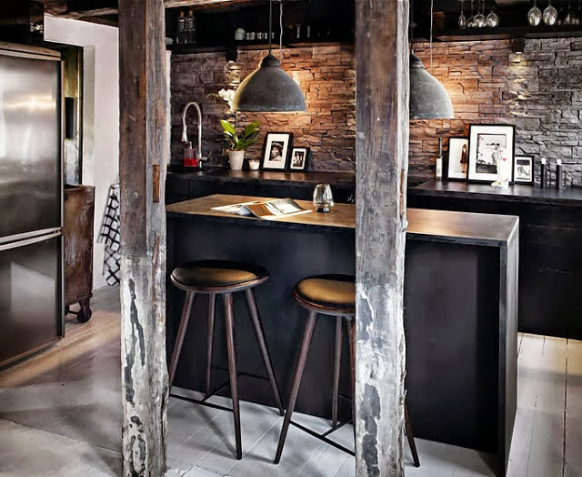 Eternamente flaneur interior vip tico estilo ny - Cucine industrial vintage ...