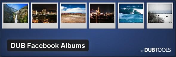 DUB Facebook Albums Plugin