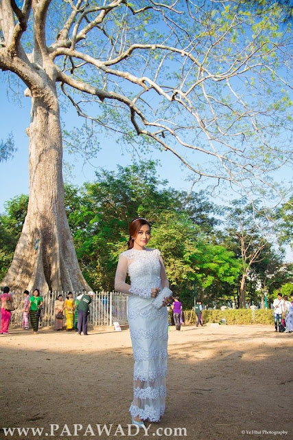 Yu Thandar Tin - Beautiful Myanmar Lady on Graduation Day