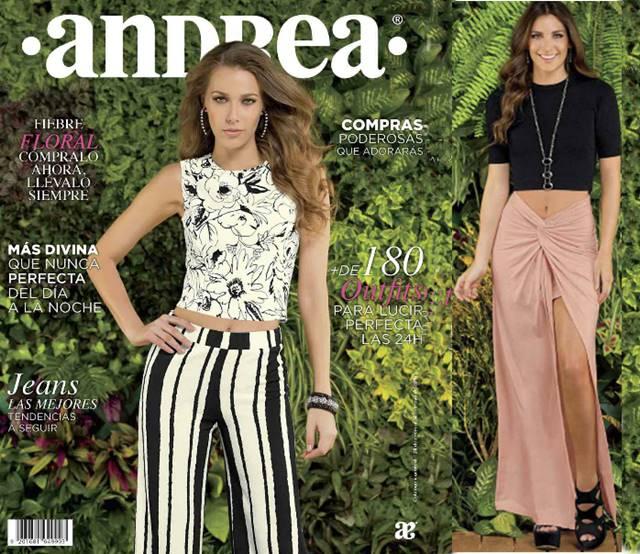 Catalogo Ropa Andrea Primavera 2016: Vestir Mujer
