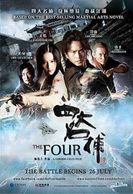 Filme Poster The Four DVDRip XviD & RMVB Legendado
