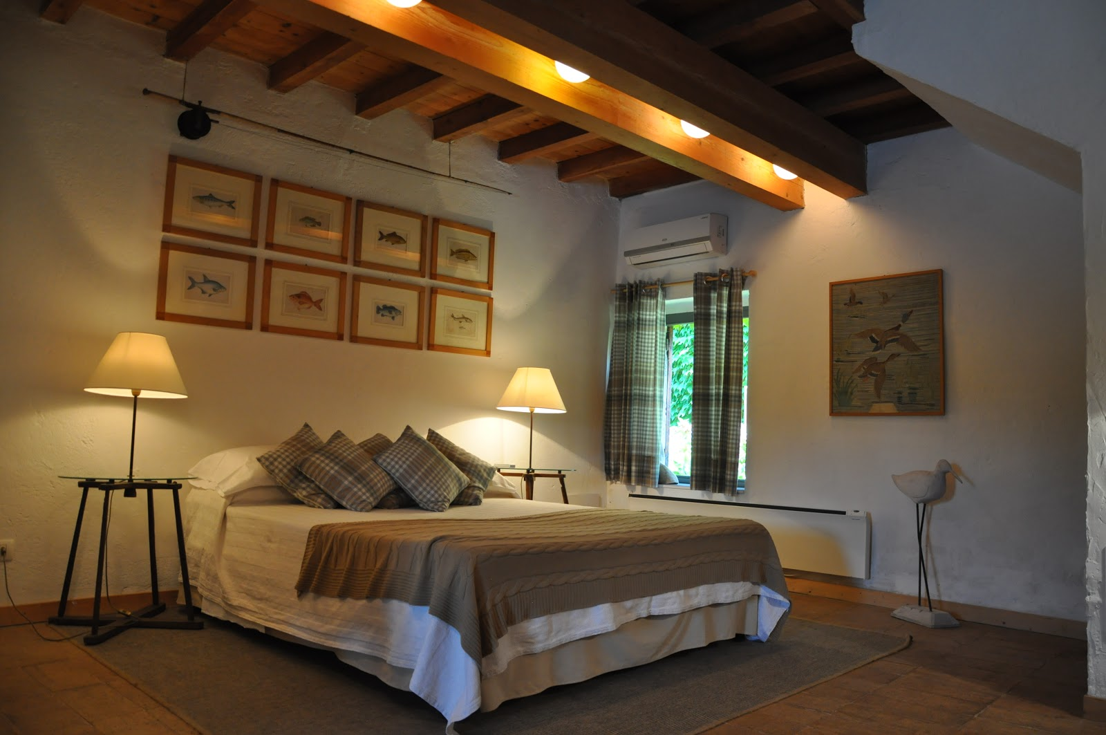 One of the charming rooms at La Finestra Sul Fiume. Photo: Courtesy of La Finestra Sul Fiume.