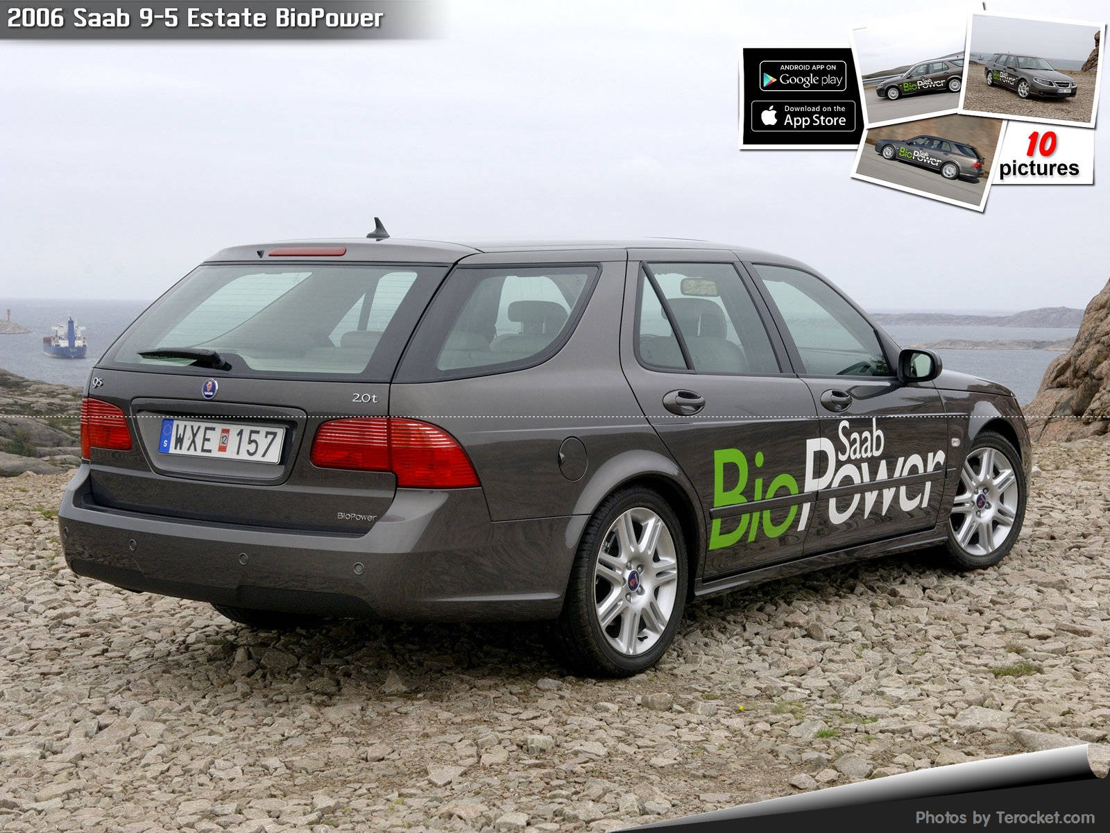 Hình ảnh xe ô tô Saab 9-5 Estate BioPower 2006 & nội ngoại thất