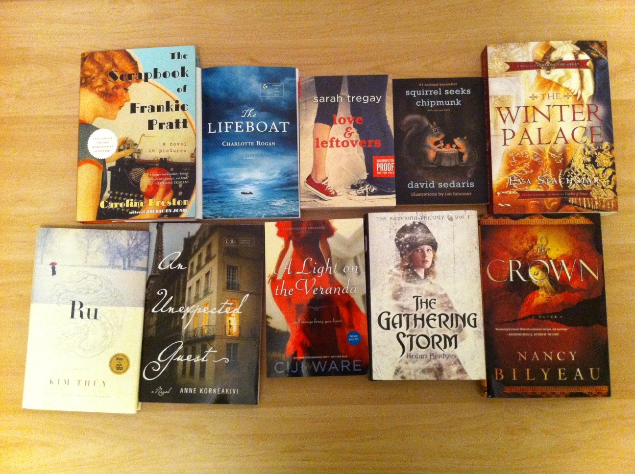 In My Mailbox (books, Books And A Kobo Vox!)