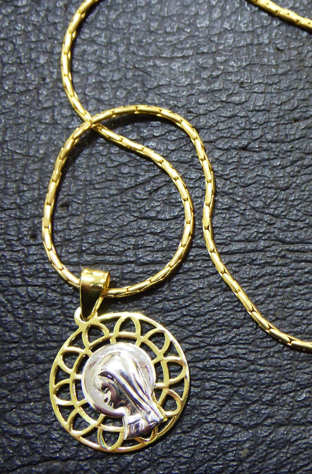 Medalla de plata dorada