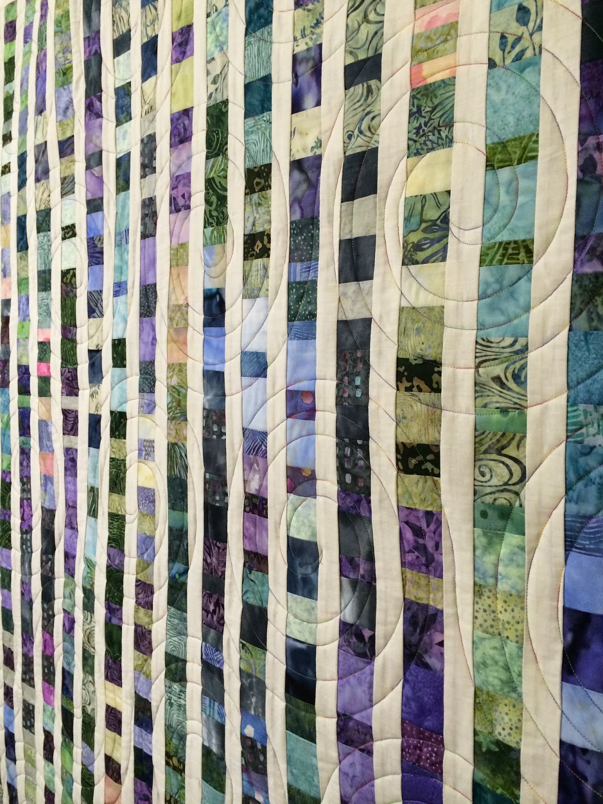 Cynthia Lance's Sea Glass Quilt