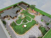 Дизайн проект ланшафта дачной усадьбы,дома,участка,озеленения
