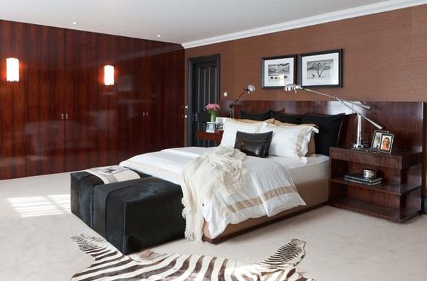 gambar dekorasi kamar tidur minimalis interior modern