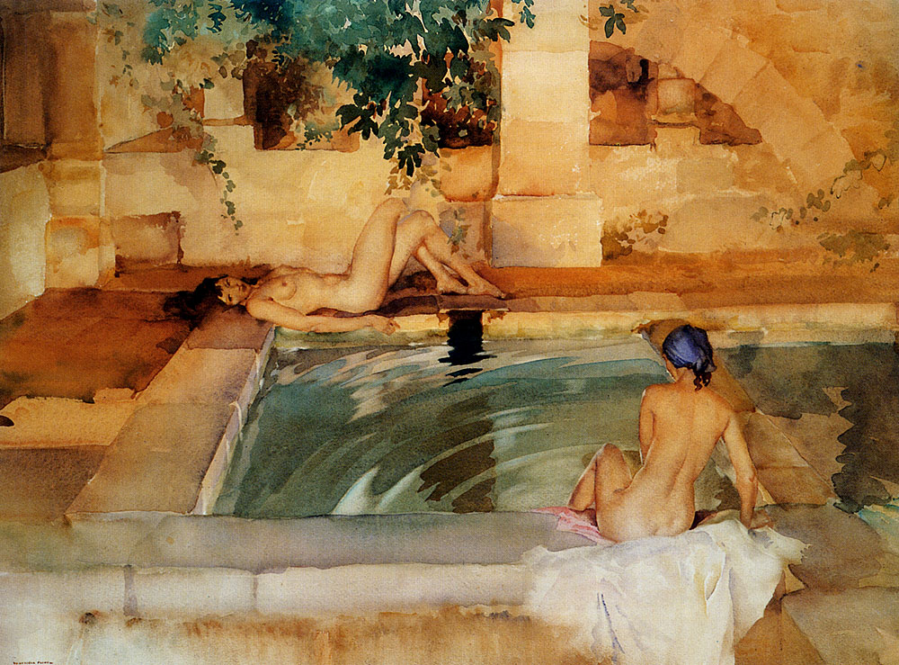 sir william russell flint cool waters