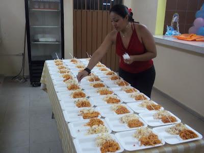 Comida para fiestas m rida baby shower paquete fiesta for Comida para invitados