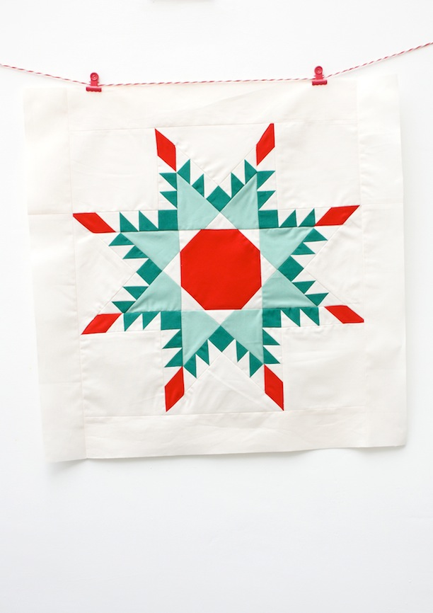 MessyJesse: Patchwork Christmas Decorations