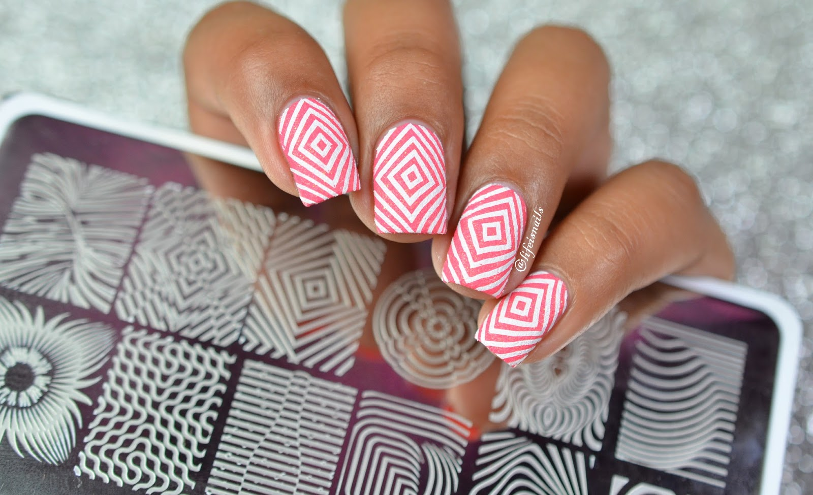 NailMatinee Nail Art Stamping Plates Review ~ Lifeisnails