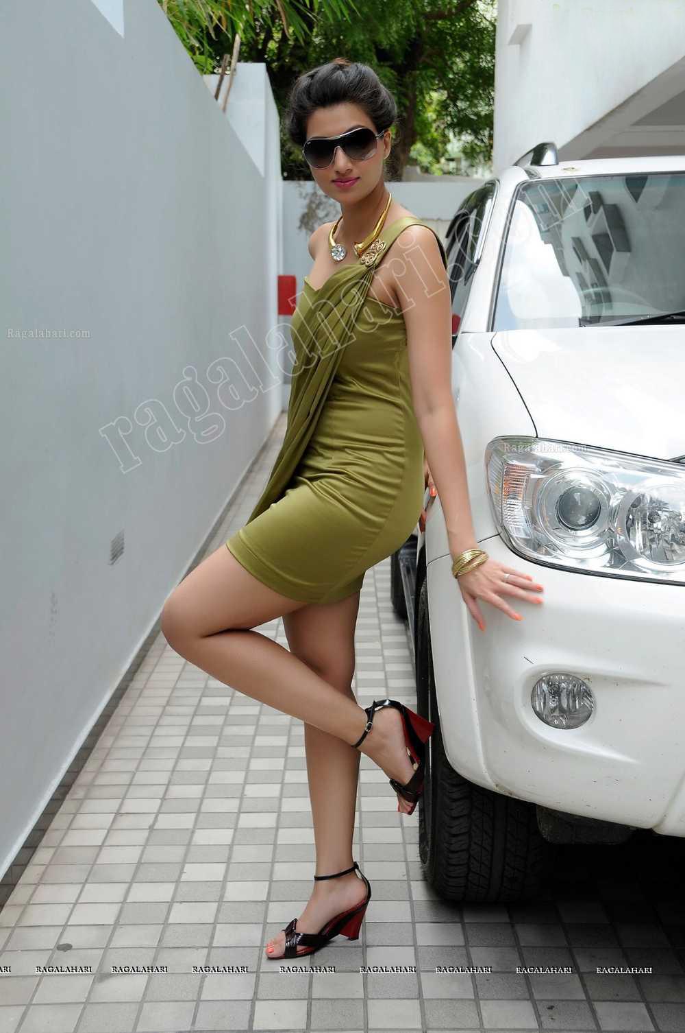 Desi Wife In Short Dress