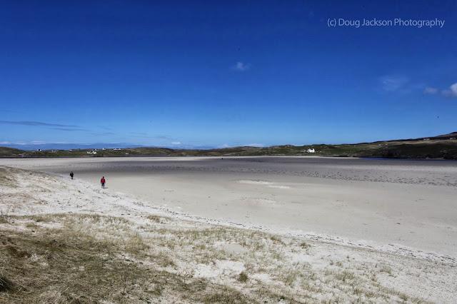 Lewis beach on Hebrides