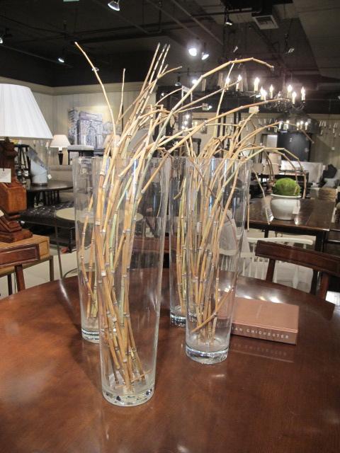Atlanta decorative arts center adac design indulgence for Big vase with bamboo sticks