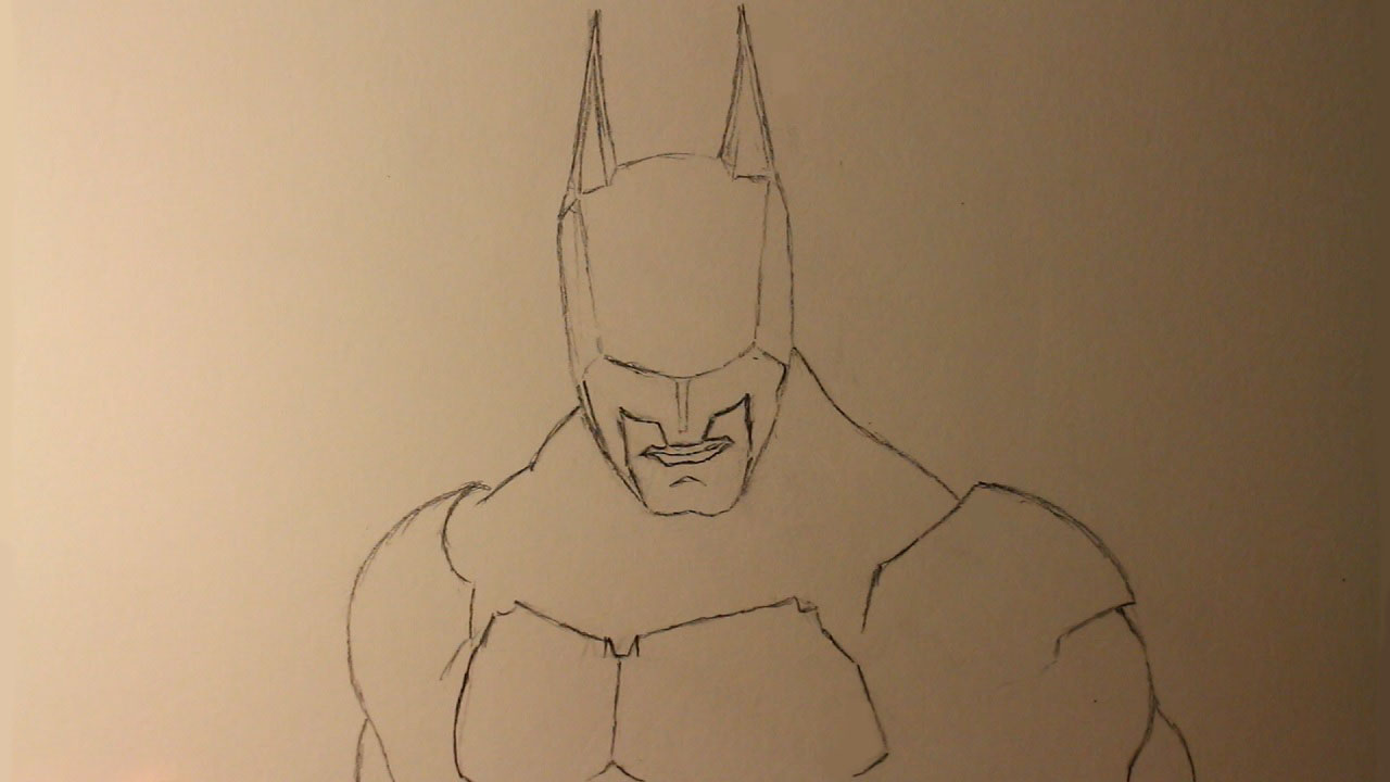 How To Draw Batman From Batman Arkham Knight A Step By Step Guide