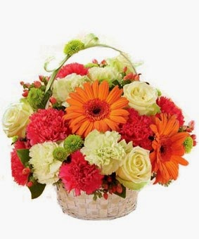 Flowers Basket Delivery in Brazil with price