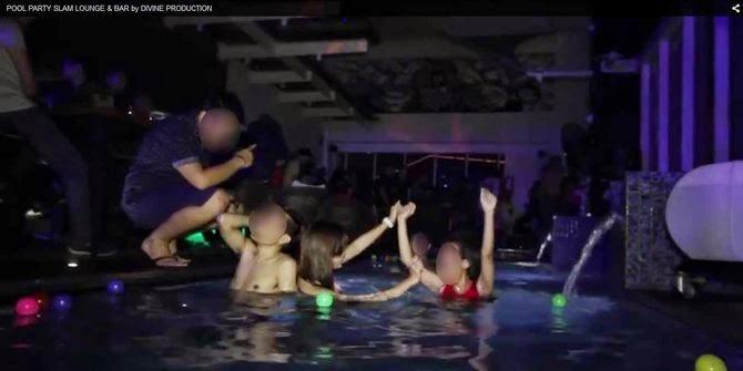 Video liarnya pool party para ABG di Jakarta