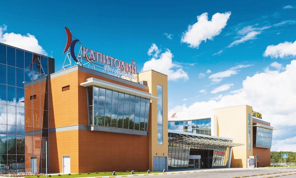 В ТЦ Капитолий сегодня открылся новый кинотеатр Космик.