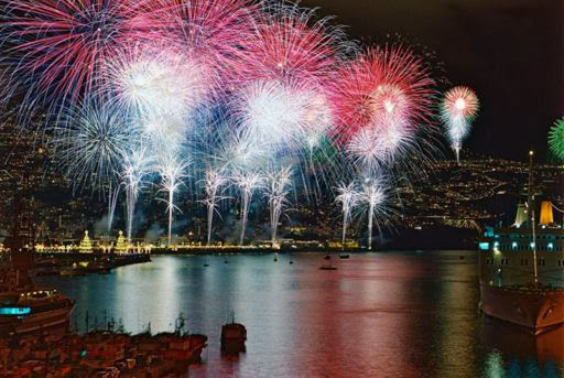 Fiesta de fin de año en Funchal