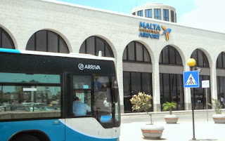 Arriva bus in Malta