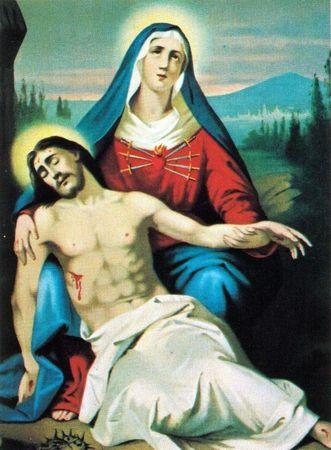 """Résultat de recherche d'images pour """"marie reçoit le corps de Jésus"""""""