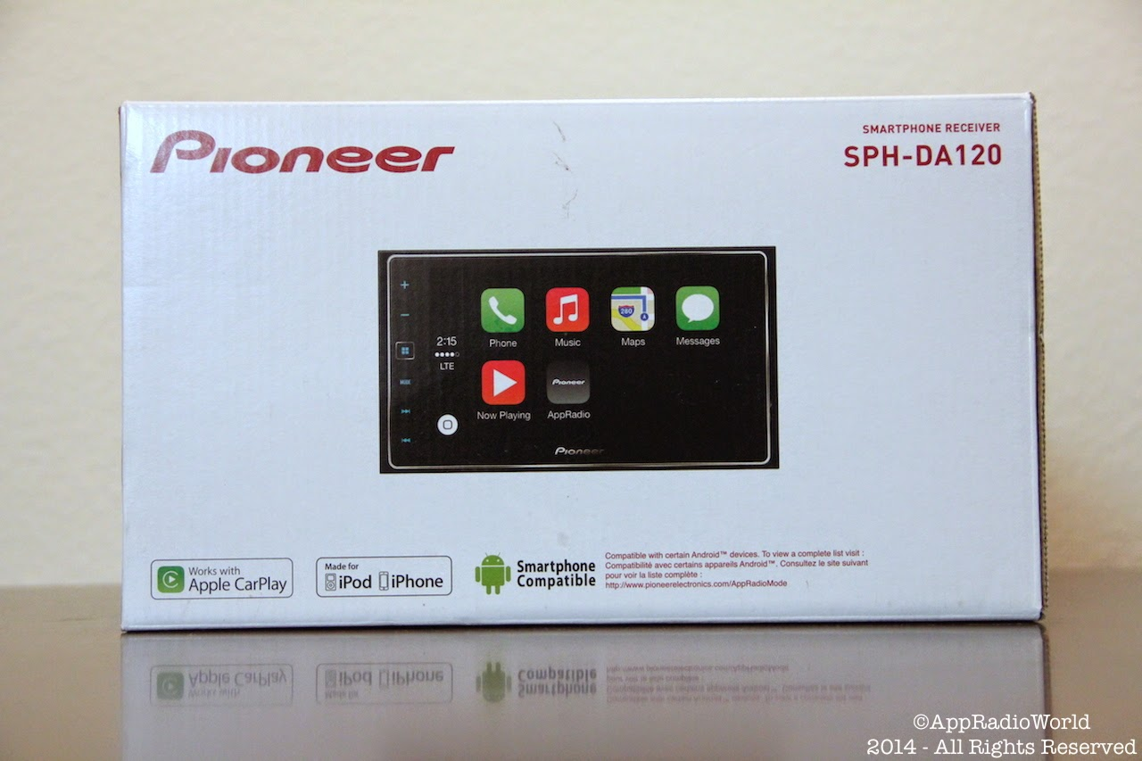 appradioworld apple carplay android auto car technology news let 39 s unbox the new pioneer. Black Bedroom Furniture Sets. Home Design Ideas
