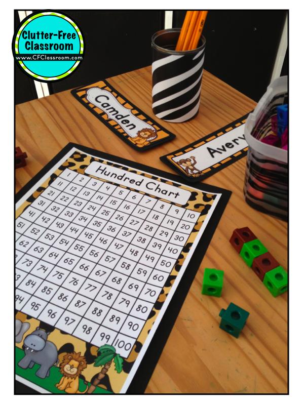 Neutral Classroom Decor ~ Jungle safari themed classroom ideas photos tips and