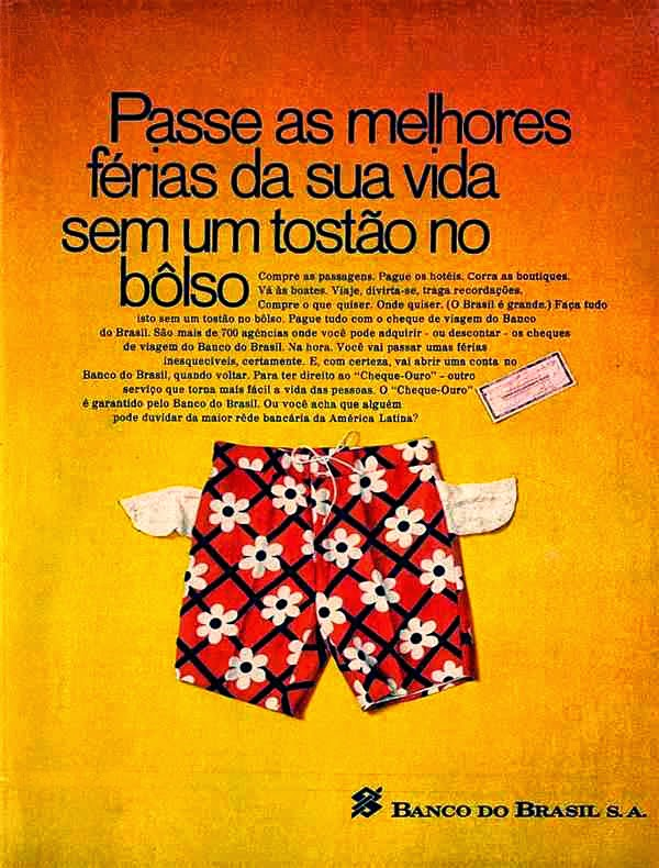 história dos anos 70; propaganda na década de 70; Brazil in the 70s; Oswaldo Hernandez;