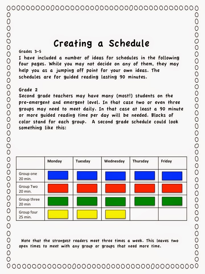 reading schedule Find and save ideas about guided reading template on pinterest | see more ideas about guided reading plan template, guided reading organization and guided reading.