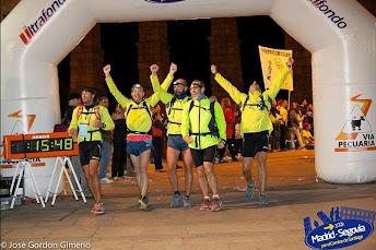 100 km Madrid-Segovia (Campeones por equipos de cinco)