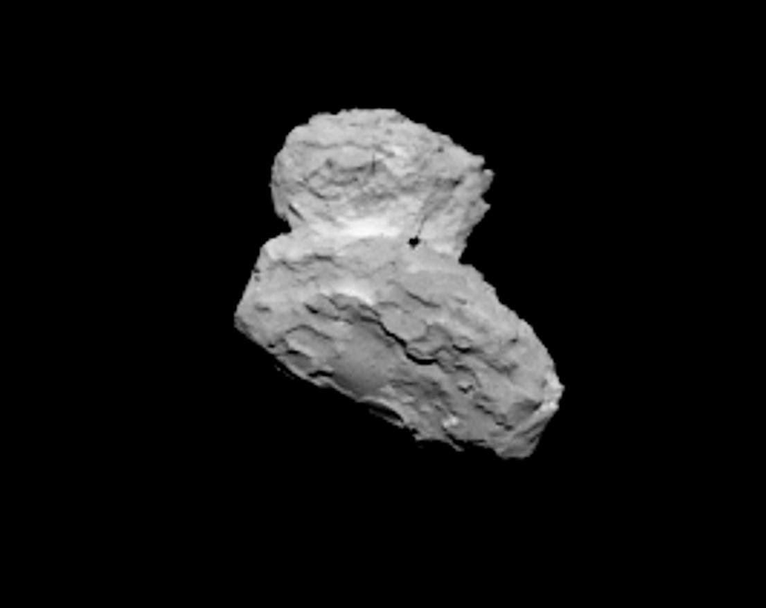 Rosetta Osiris Cam: Cometa 67P a 1.000 km