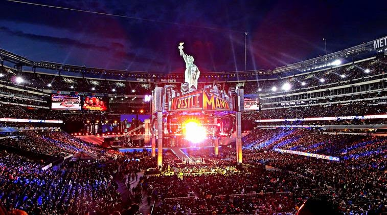 Levis Stadium Capacity >> Wwe Wrestle Mania Wwe Wrestlemania 31 Venue Levi S Stadium Capacity