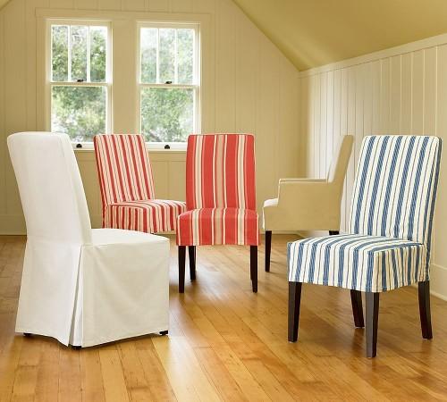 Cosas para tu hogar fundas para tus sillas - Faldones para sillas ...