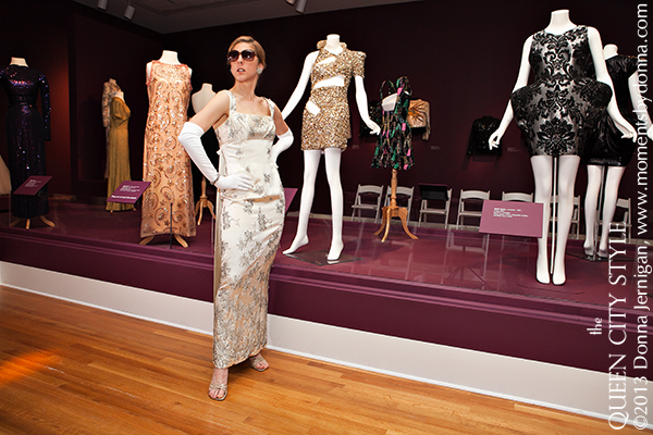 NC Fashion Blog, Southern Style Blog, The Mint Museum, Moments by Donna photography, vintage beaded gown