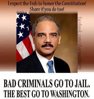 Eric holder jail 